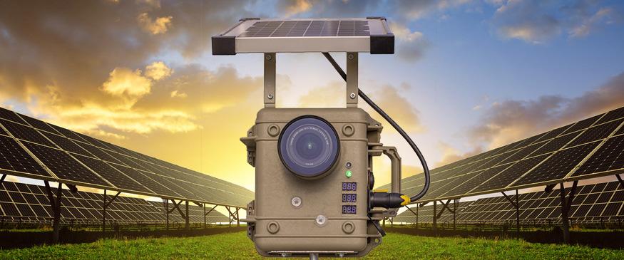 Zeitraffer Kamera Solarstrom